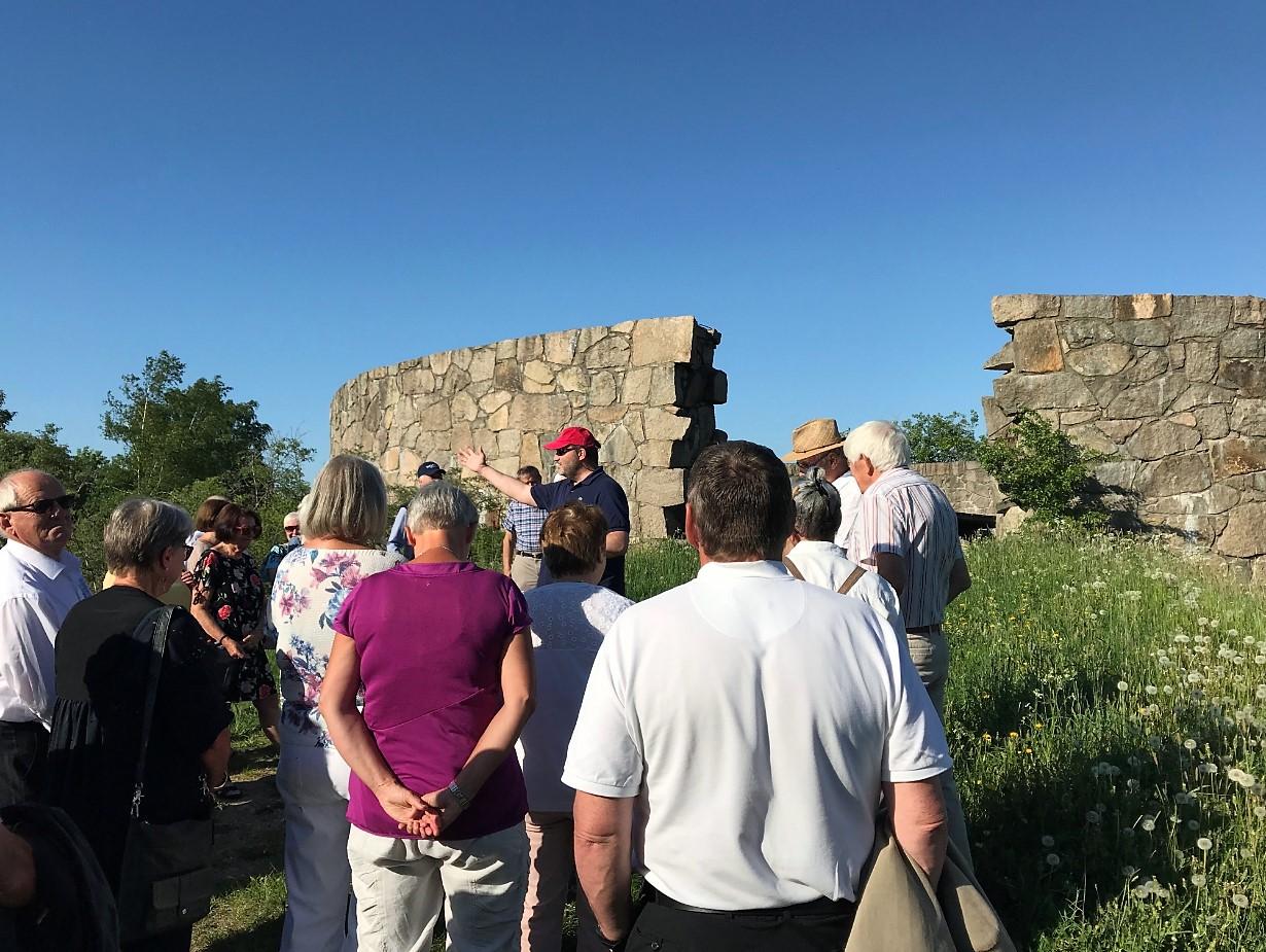 Historiker Petter Ringen Johannessen forteller om Isegrans historie.